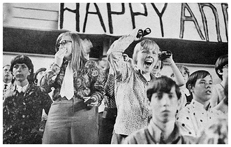 Beatle Fans at Shea, 1966