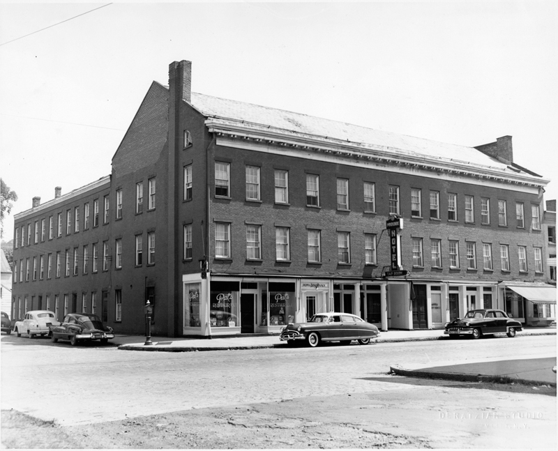 Phoenix Hotel, 2nd Ave & 116th, Troy, c1952