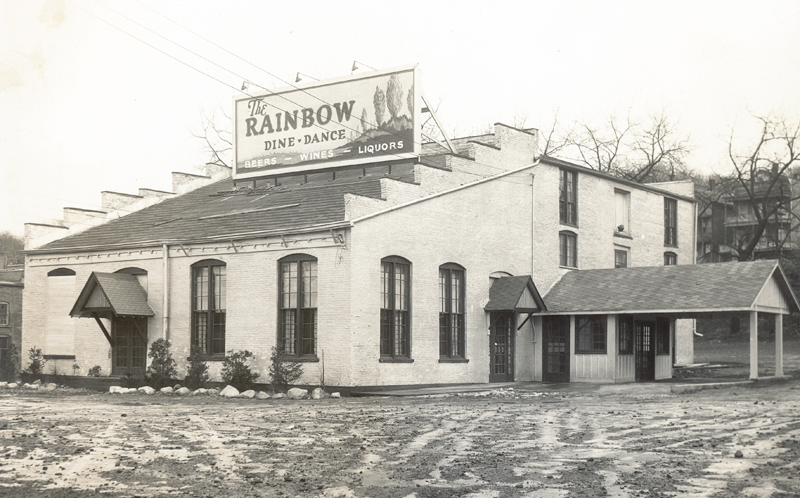 The Rainbow Gardens Nightclub, Middleburgh and 7th Ave, Troy, c1935